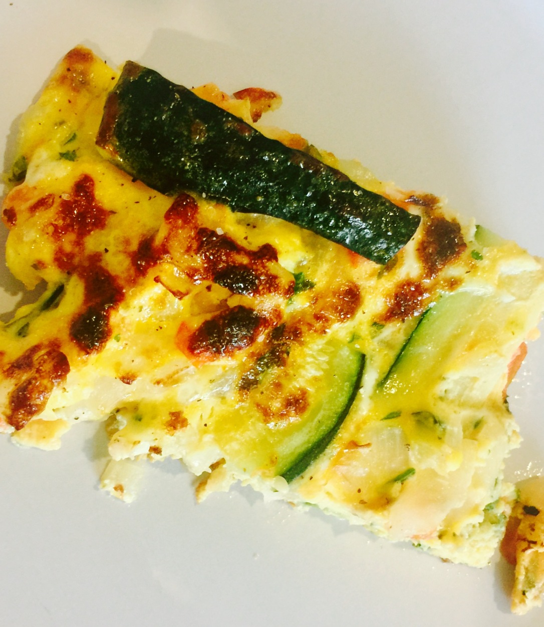 frittata cooked